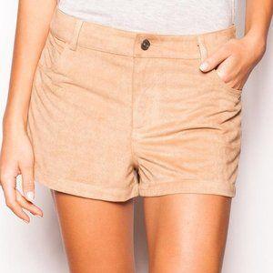 NWOT Pink Martini Microsuede Shorts XS/M/L